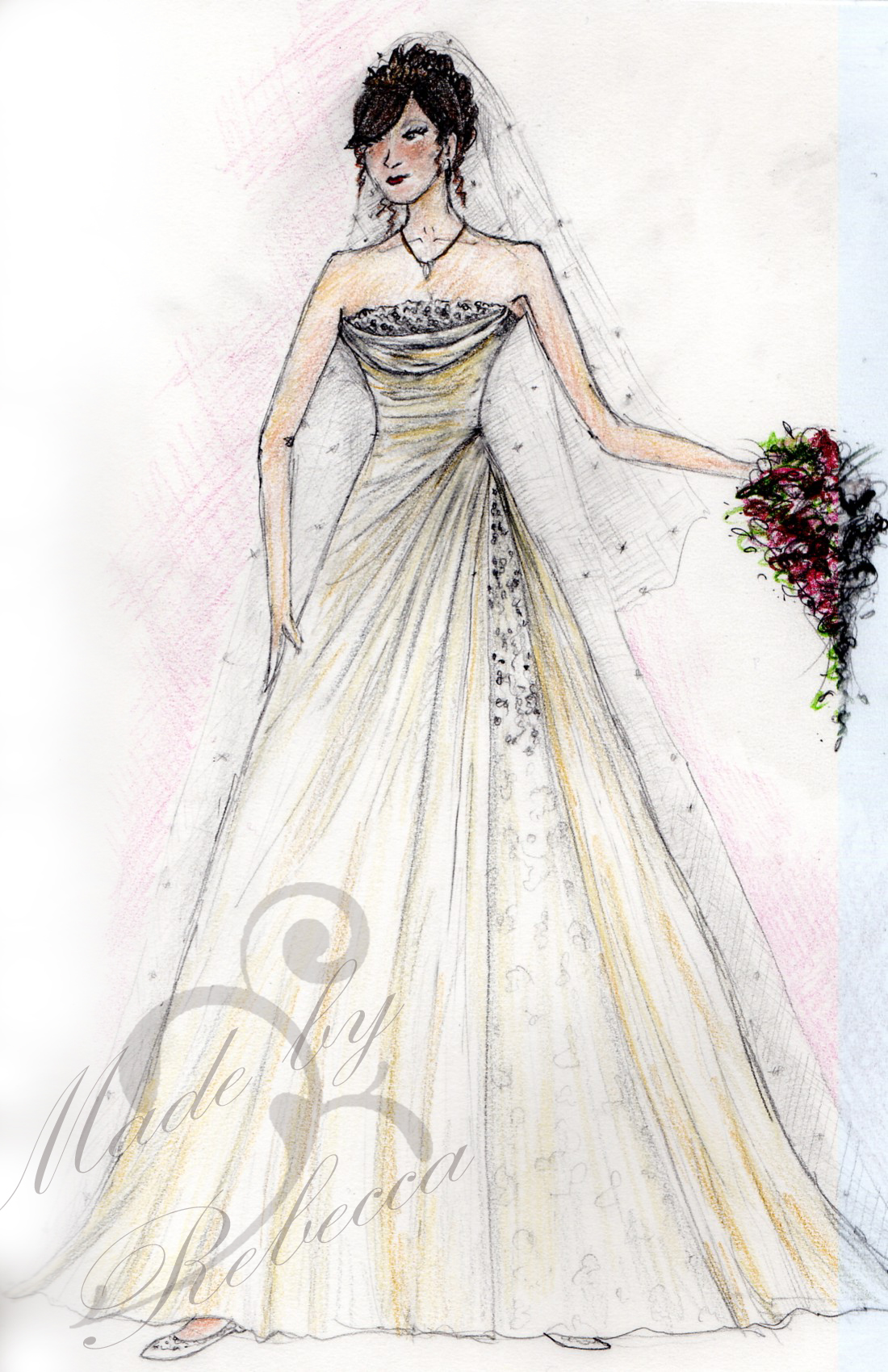 design wedding dress comstreamdesign